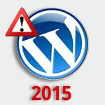 אבטחת אתרי וורדפרס - סקר מסכם 2015